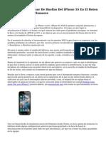 Patentizas Del Sensor De Huellas Del IPhone 5S En El Boton Home Fotografias,Rumores