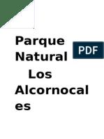 Proyecto Conocemos el parque natural de Los Alcornocales.Nº 1.