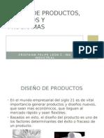 Diseñoo de Productos, Procesos y Programas