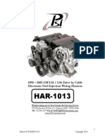 HAR-1058 LS2 Harness Instructions 10 | Electrical Connector