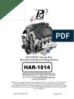 HAR-1014 VORTEC DBW Harness Instructions 4
