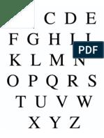 Times Alphabet