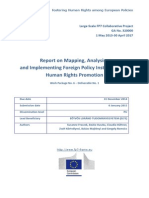 FRAME - Report on Mapping, Analysing and Implementing Foreign Policy Instruments in Human Rights Promotion