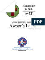 CAS - ASESORIA LAICA . EXPLORADORES
