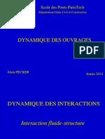 Interraction Fluide Structure