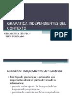 7. Gramatica Independientes Del Contexto