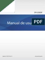 Manual Del Usuario Samsung Galaxy S5 SM-G900F