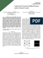 A.kadid, S.noui, A.zine. Behaviour of Reinforced Concrete Infilled Frames Under Seismic Loads