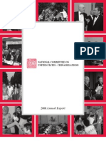 National Committee on United States-China Relations – Annual Report 2008