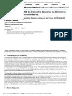 Resolução Nº 27_2008 Do Conselho Nacional Do Ministério Público_ Inconstitucionalidades