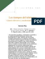Los tiempos del teleteatro - Germán Rey