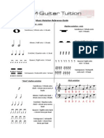 Music Reading Guide