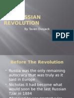 The Russian Revolution History