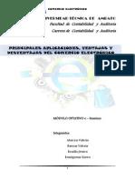 Principales Aplicaciones E-comerce