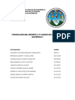 Reformas Del Trabajo Del Código de Comercio de Guatemala