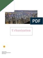 urbanization epoftfolio signature assaignment