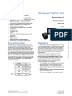 Csr1010 Data Sheet Cs-231986-Ds