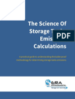 The Science of Storage Tanks Emissions Calculations