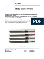 Electric Detonators