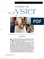 Consider the Oyster.april 2015