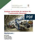 Analyse Secteur Automobil