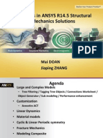 ANSYS Structural Mechanics 14.5