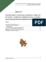 Extras Lingvistica Romanica1