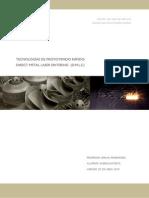 Trabajo Evaluación Prototipado Rapido - Dmls - Ruben Jacob - Master Cadcamcim