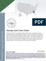 _Georgia Quit Claim Deed