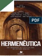 Hermenêutica, Uma abordagem multidisciplinar da leitura -  Editor, Elmer Dyck [AGRAPHAI] bíblica.pdf