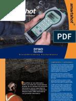 SmartShot Brochure Underground Spanish