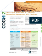 Cognizant EIM Services Overview