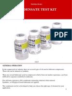 Condensate Testkit English