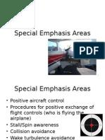 Special Emphasis Areas