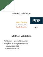 Metodologia de Validacion HKAS
