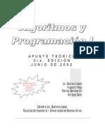 Apunte Teorico(AlgoritmosI)(VERSION3)
