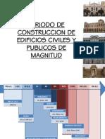 Periodo de Construccion de Edificios Civiles en Lima