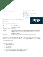 Surat Permohonan Dana Belajar (Lanjutan)