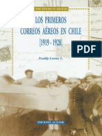 Los Primeros Correos Aéreos de Chile (1919-1928). (2000)
