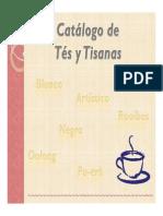 Catálogo de Tés