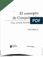 El concepto de competencia - vol II - cap2