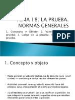 Power Point, Regla General Sobre Prueba