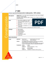 Resina Epoxica Bicomponente Multiproposito Sikafloor 161
