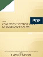 Taller Biodescodificación