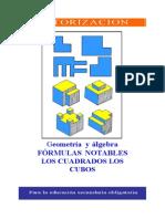 Formulas Notables - Cuadrados y Cubos