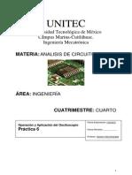 Práctica 6 Operación y Aplicación Del Oscilsocopio