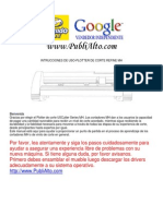 Manual de Plotter de Corte us cutter