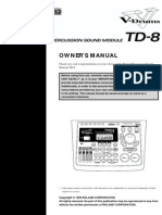 Roland TD-8 manual