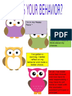 owls your behavior