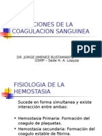 Alt. de la Coagulacion Sanguinea 2014.ppt